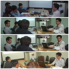 ประชุมคณะทำงานบริหารการจัดเก็บข้อมูล จปฐ.ระดับจังหวัดปี 2555