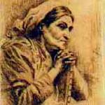 """<b>Portrait</b><br/> Arvid Frederick Nyholm (1866-1927) """"Portrait"""" Etching, n.d. LFAC #074<a href=""""http://farm8.static.flickr.com/7183/6779985058_f428879bf9_o.jpg"""" title=""""High res"""">∝</a>"""