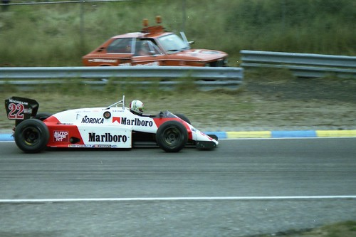 1983 gp zandvoort - andrea de cesaris - alfa romeo 183t - a photo on