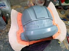 Smooth-On Rebound 25 helmet mold by Sean Bradley (Smooth-On) Tags: rubber plastic foam resin silicone smoothon