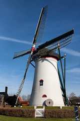 No Name (1844), Nieuwerkerk (BraCom (Bram)) Tags: mill netherlands windmill nederland zeeland historical molen windmolen historisch schouwenduiveland nieuwerkerk cornmill korenmolen grondzeiler rondestenenmolen bracom rm14170