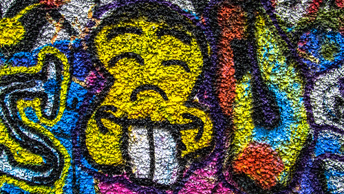 Street Art And Graffiti - Windmill Lane