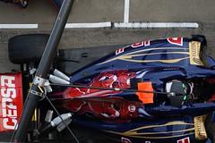 Daniel Ricciardo TORO ROSSO STR7 Ferrari .   Pitlane  2nd. F1 Montmeló Test Days 2012  3th. day    f14732032e (antarc foto) Tags: daniel ricciardo toro rosso str7 ferrari test days 2012 formula1 circuit de catalunya pitlane montmeló f1 formulaone barcelona barcelone