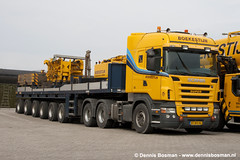 Scania R560 (legotrucks) Tags: scania r580 nooteboom rseries ballasttrailer rserie boekestijn worldtruck