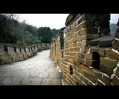 Great Wall (lifeinpixels_) Tags: china wall turn ancient asia angle path stones space bricks great wide twist walkway greatwall visible steep greatwallofchina