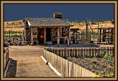 Cove Fort Outbuilding (the Gallopping Geezer 1.8 million + views....) Tags: house building home canon utah exterior furniture interior structure historic mormon 2008 hdr geezer dwelling covefort