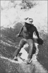 from the vault : michael, water sport 2 (AstoriaCXR) Tags: beach water michael surf skin bandana dudes cowboyhat