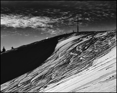Am Gipfel (BM-Licht) Tags: schnee mountain snow tree berg germany snowshoe bayern deutschland bavaria nikon bad wald tlz schneeschuhe arzbach schneeschuhwandern wackersberg d7000 waldherralm