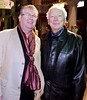 Improbable Frequency opening night. Pictured are Joe Duffy and Gay Byrne at Rough Magic's Improbable Frequency which opened Thursday and runs at The Gaiety Theatre until March 24. Photo Mark Stedman/Photocall Ireland Buy tickets here e1.ie/2ie