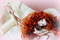 Lightpainted Doll. Handmade artist porcelain BJD (cureilona of Lightpainted Doll) Tags: lightpainting art ball photography one miniature doll artist dolls handmade ooak mini kind tiny bjd ilona making porcelain articulated joint porzellan stringing poupe jointed poupes lightpainted    cureilona articules   jurgiel  kugelgelenkpuppe mingajlo