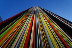 Tour Moretti Vertige (Edgard.V) Tags: paris france art colors architecture cores la tour couleurs colori dfense moretti chemine architetura