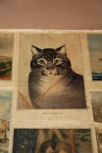 The Favorite Cat lithograph
