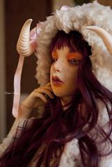 Esthe - The Sheeplady (Koala Krash) Tags: ball doll alice makeup chloe bjd custom ail labyrinth jointed sheeplady