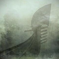 lentamente appare... (* onda *) Tags: venice mist texture gondola forever memoriesbook