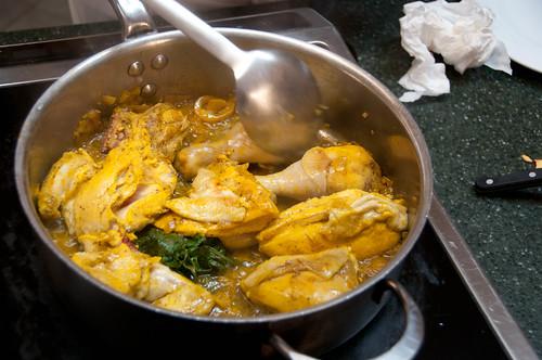 Tajine met kip en geconfijte citroen