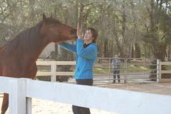 Rebecca & Jackson (Barbara Alexander) Tags: horses boundaries selfimprovement selfawareness mentorship barbaraalexander equineexperientiallearning eponaridge