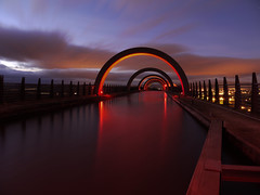 ARTERY (explore) (kenny barker) Tags: longexposure winter red sky colour night lumix scotland falkirk falkirkwheel absoluterouge daarklands panasonicgf1 extraordinarilyimpressive bestofshining welcomeuk netartii kennybarker