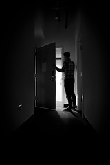 At the Door (Joshua Uhl) Tags: