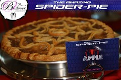 The Amazing Spider-Pie! (mybsweet) Tags: pie spiderman custom marvel spidermanmovie theamazingspiderman bsweetcatering