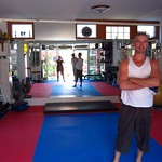 "Mark in his Gym <a style=""margin-left:10px; font-size:0.8em;"" href=""http://www.flickr.com/photos/14315427@N00/6920921446/"" target=""_blank"">@flickr</a>"