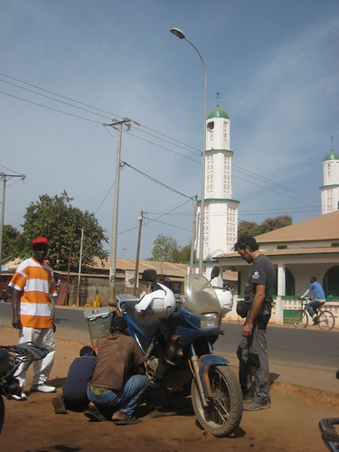 Puncture in Gambia