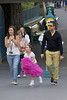 Internet sensations Sophia Grace Brownlee and Rosie McClelland spend the day at Disneyland with family members Anaheim, California