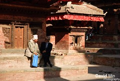 Kathmandu, Nepal - Durbar Square (GlobeTrotter 2000) Tags: world street travel nepal people urban mountain heritage tourism trek square asia cityscape visit unesco kathmandu conversation himalaya talking durbar everest sanctuary anapurna katmandou