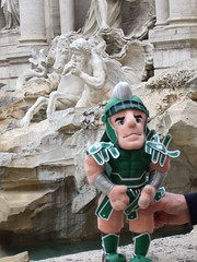 Photo representing Sparty in Italy, 2007