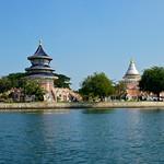 Wat Thawonwararam by the river Kwae in Kanchanaburi thumbnail