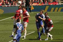 Goal mouth melee 5 (Ronnie Macdonald) Tags: football soccer emirates futbol arsenal futebol chelseafc gooners fernandotorres ronmacphotos