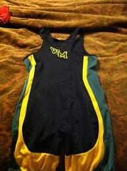 new varsity singlet (back) (nickymagss1 (wants og inflicts)) Tags: usa wrestling og singlet suffolkcounty wrestlingsinglet usawrestling collegesinglet