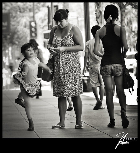 Pasadena Street Photography - The Ballerina - Explore 3.9.12