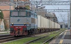 E655 078 (Raffaele Russo (LeleD445)) Tags: roma train merci cargo transito trenitalia elettrica locomotiva ostiense 078 caimano e655 xmpr reostatica