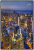 Chicago at Night (Frank Kehren) Tags: chicago night skyscraper canon lights illinois unitedstates searstower explore 24 f56 hdr canoneos5dmarkii willistower tse24mmf35lii canontse240mmf35lii