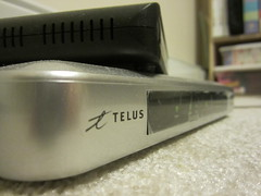 Day 336 - So long Telus (GPrime83) Tags: canon router wirelessinternet telus project365 project366 elph100hs