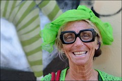 Stranger #101 - Dee {Explored} (Peter Grifoni) Tags: street green project nikon neon strangers stranger portraiture 100 dee newtown d7000 afs50mmf18 gtpete63 gtpete gtpetephotography wwwgtpetephotographycom petergrifoni