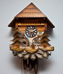 Cuckoo Clock (Laura Erickson) Tags: clock homestuff cuckooclock