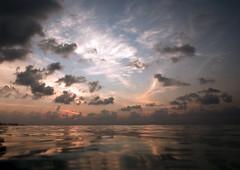 Diving Maldives: Sunset