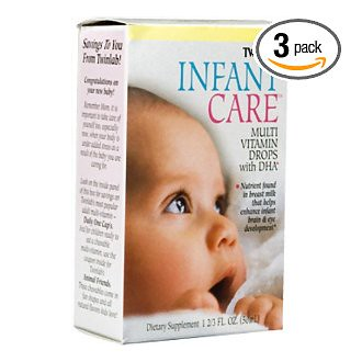 Twinlab婴幼儿护理多种维生素+DHA滴剂优惠后$22.32