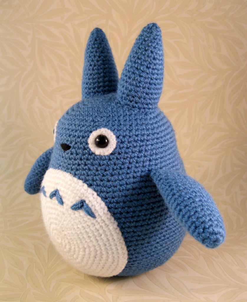 Totoro Azul Amigurumi : The world s best photos of amigurumi and ghibli flickr