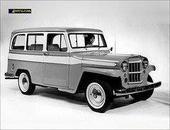 1960 Jeep Willys Station Wagon (USA) (Dkarros.com) Tags: old car photo jeep 4x4 picture willys stationwagon 1960 ranchera todoterreno jeepwillysstationwagon