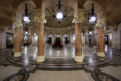 Waiting Room (night86mare) Tags: paris france architecture entrance fisheye palais garnier k5 10mm