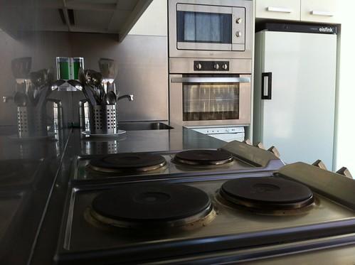 Cooking lounge o salón comedor