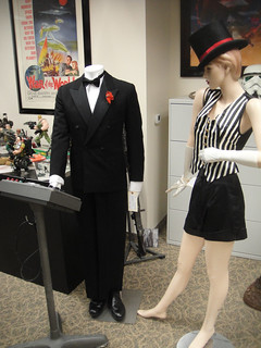 Captain America Prop Auction - Howard Stark tuxedo and showgirl costume