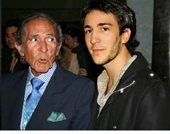 Con Antonio Gala