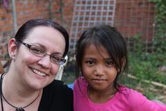 "Sara and her sponsored child <a style=""margin-left:10px; font-size:0.8em;"" href=""http://www.flickr.com/photos/46768627@N07/7062834769/"" target=""_blank"">@flickr</a>"