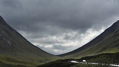 Glencoe, country road, Schottland
