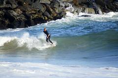 DSC09271 (palmtreeman) Tags: ocean sea water surf waves surfing beaches wedge skimming