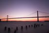 Windy San Francisco Bay (kapshure) Tags: sf sanfrancisco longexposure bridge water bay san francisco le nd baybridge sfist