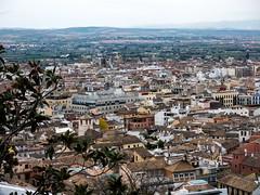 La ciudad desde la Fundacion Gomez Moreno (Micheo) Tags: city ciudad views granada vistas vega carmendelafundacinrodrguezacosta